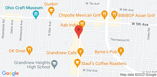 Directions to Aladdin's Eatery Grandview