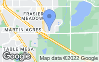 Map of Boulder, CO
