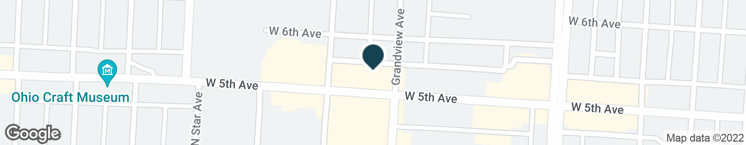 Google Map of1444 W 5TH AVE