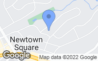 Map of Newtown Square, PA