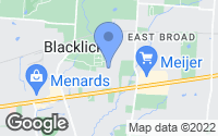 Map of Blacklick, OH