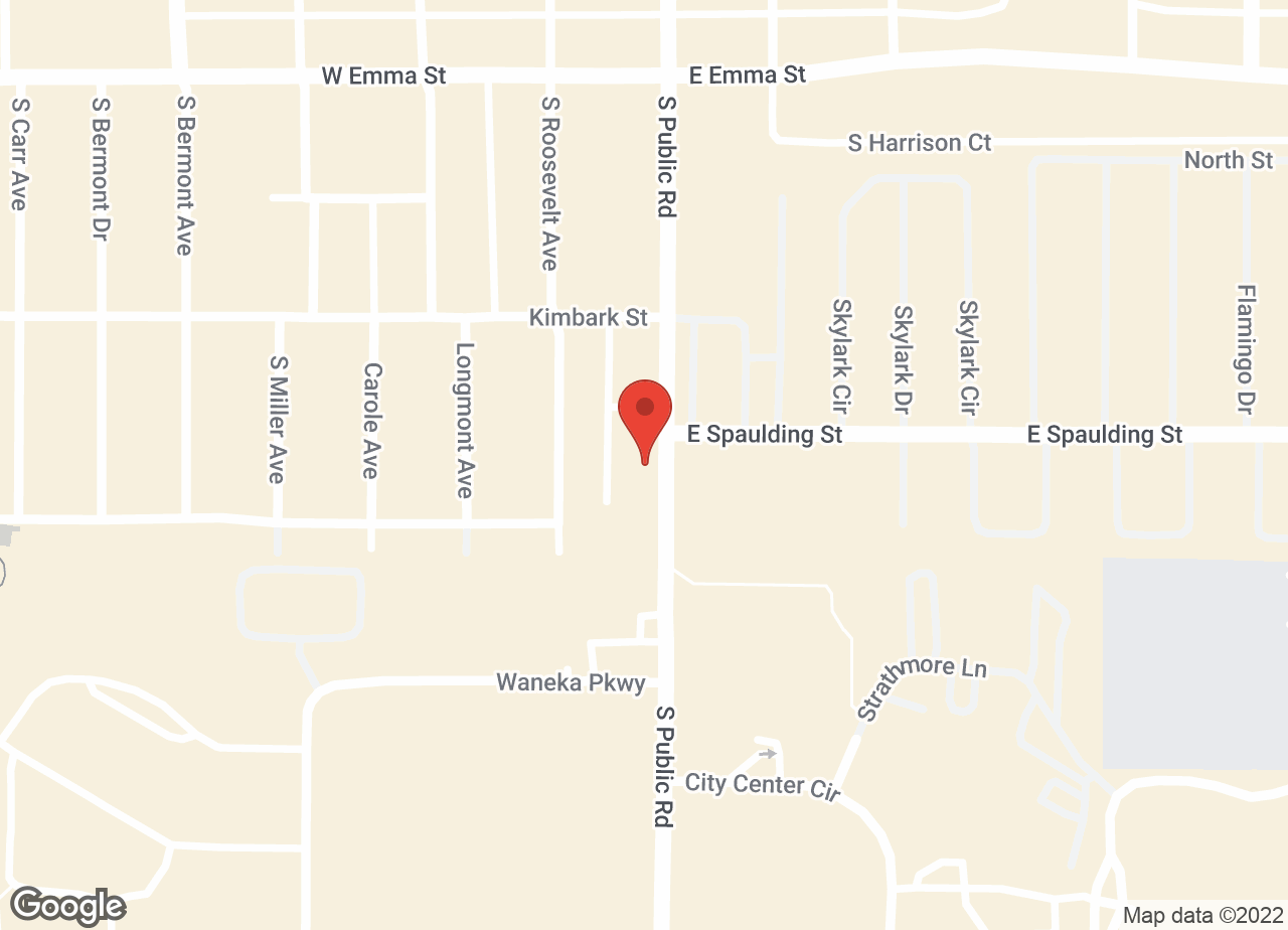 Google Map of VCA All Pets Animal Hospital Lafayette