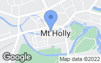 Map of Mount Holly, NJ