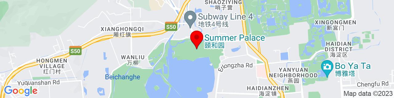Google Map of 39.9999823, 116.27546059999997