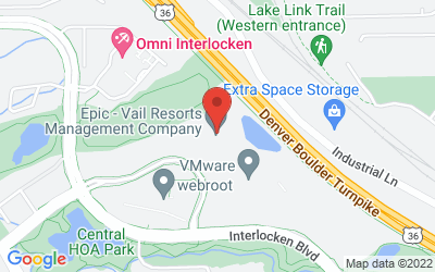 Map of Broomfield Office Space