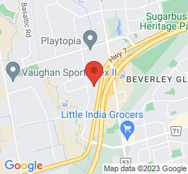Google Map of 390+Bradwick+Drive%2CVaughan%2COntario+L4K+2W4