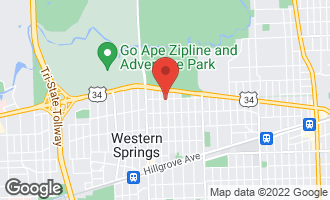 Map of 3900 Howard Avenue WESTERN SPRINGS, IL 60558