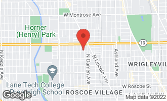 Map of 3900 North Seeley Avenue CHICAGO, IL 60618