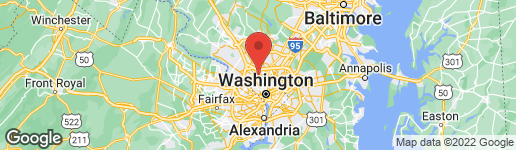 Map of 3901 BLACKTHORN STREET CHEVY CHASE, MD 20815