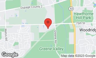 Map of 3905 Gladstone Drive NAPERVILLE, IL 60565