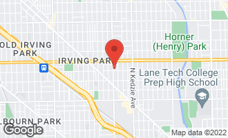 Map of 3905 North Kimball Avenue CHICAGO, IL 60618