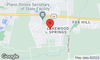 Map of 3906 Pratt Street PLANO, IL 60545