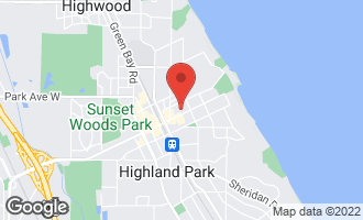 Map of 391 Central Avenue HIGHLAND PARK, IL 60035