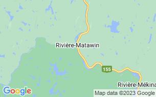 Map of Centre D'aventure Mattawin