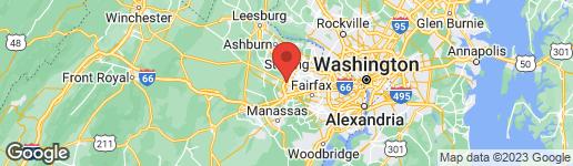 Map of 3914 Centreville Road Chantilly, VA 20151