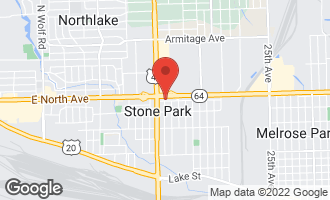 Map of 3916 West North Avenue STONE PARK, IL 60165
