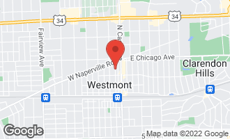 Map of 3917 North Lincoln Street WESTMONT, IL 60559