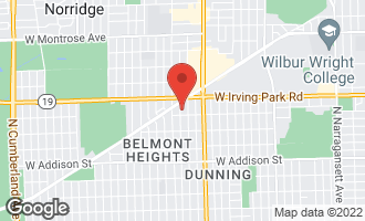 Map of 3917 North Odell Avenue CHICAGO, IL 60634