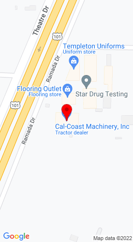 Google Map of Cal-Coastal Mach 3920 Ramada Drive, Paso Robles, CA, 93446
