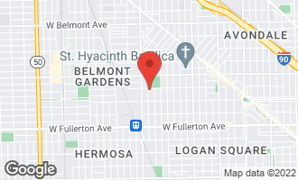 Map of 3923 West Schubert Avenue CHICAGO, IL 60647
