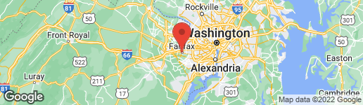 Map of 3924 RUST HILL PLACE FAIRFAX, VA 22030