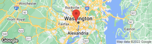 Map of 3925 IVY TERRACE COURT NW WASHINGTON, DC 20007
