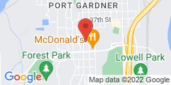 Google Map of 3927 Rucker Avenue+Everett+WA+98201
