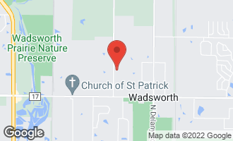 Map of 39305 North Kilbourne Road WADSWORTH, IL 60083