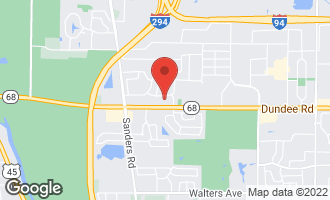 Map of 3932 Dundee Road NORTHBROOK, IL 60062