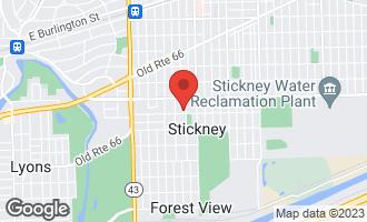 Map of 3940 Grove Avenue Stickney, IL 60402