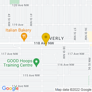 Map to Drake Hotel provided by Google
