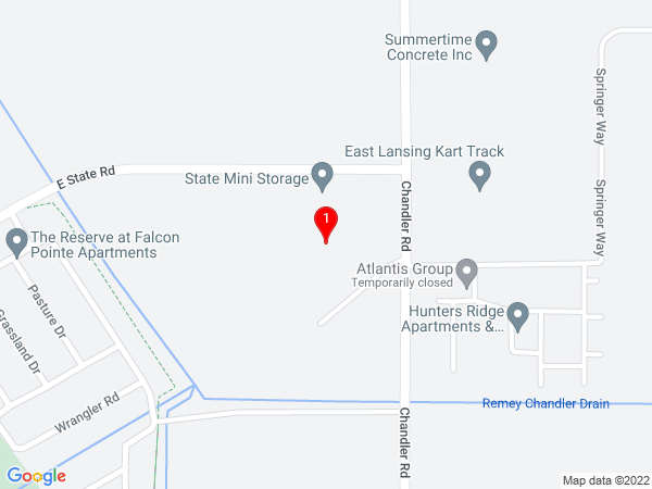 Google Map of 3946 East State Rd Bath, MI 48808