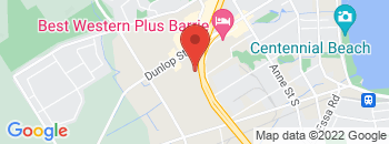 Google Map of 395+Dunlop+Street+West%2CBarrie%2COntario+L4N+1C3