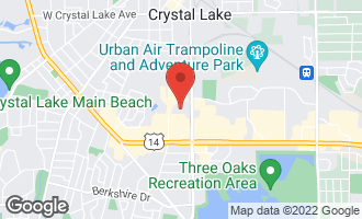 Map of 395 Techler Boulevard CRYSTAL LAKE, IL 60014