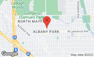 Map of 3951 West Ainslie Street #6 CHICAGO, IL 60625