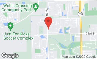 Map of 3952 Bluejay Lane NAPERVILLE, IL 60564