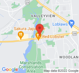Google Map of 399+Bath+Road%2CKingston%2COntario+K7M+7C9
