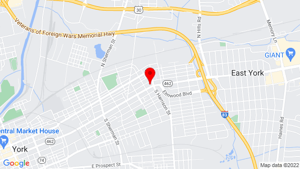 Google Map of 3999 West Chester Pike, York, PA 17407