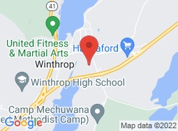 Location of Winthrop/Monmouth Adult & Community Education on a map