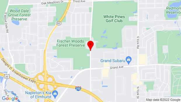 Google Map of 3N784 Church Rd, Bensenville, IL 60106