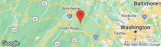 Map of 3LOTS CAREFREE BOYCE, VA 22620