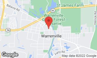 Map of 3S364 4th Street WARRENVILLE, IL 60555