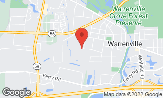 Map of 3S620 Mignin Drive WARRENVILLE, IL 60555
