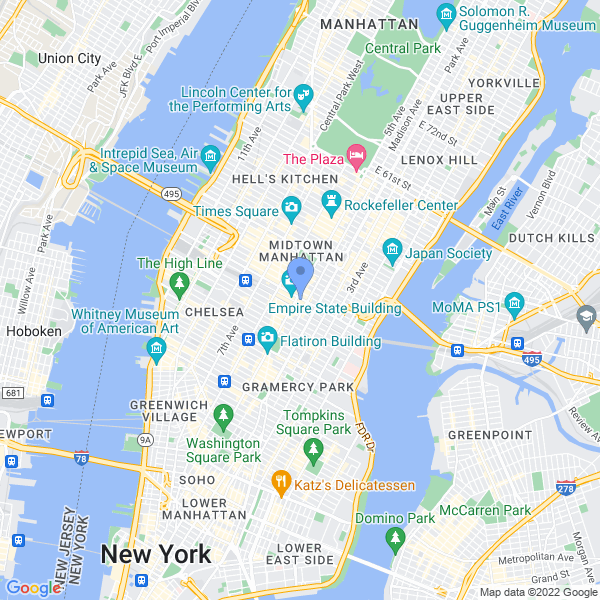 VR World NYC Map