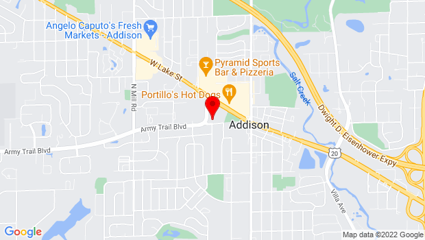 Google Map of 4 Friendship Plaza, Addison, IL 60101