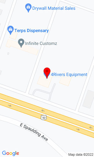 Google Map of 4 Rivers Equipment (construction) 685 East Enterprise Drive, Pueblo West, CO, 81007