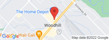 Google Map of 4+Maritime+Ontario+Blvd%2CBrampton%2COntario+L6S+0C2