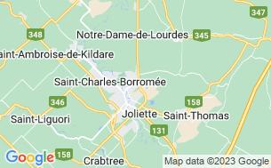 Map of Camping Plage Belle-Marée