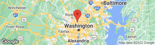 Map of 4 CAMPBELL COURT KENSINGTON, MD 20895