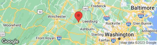 Map of 4 JACKSON AVENUE ROUND HILL, VA 20141